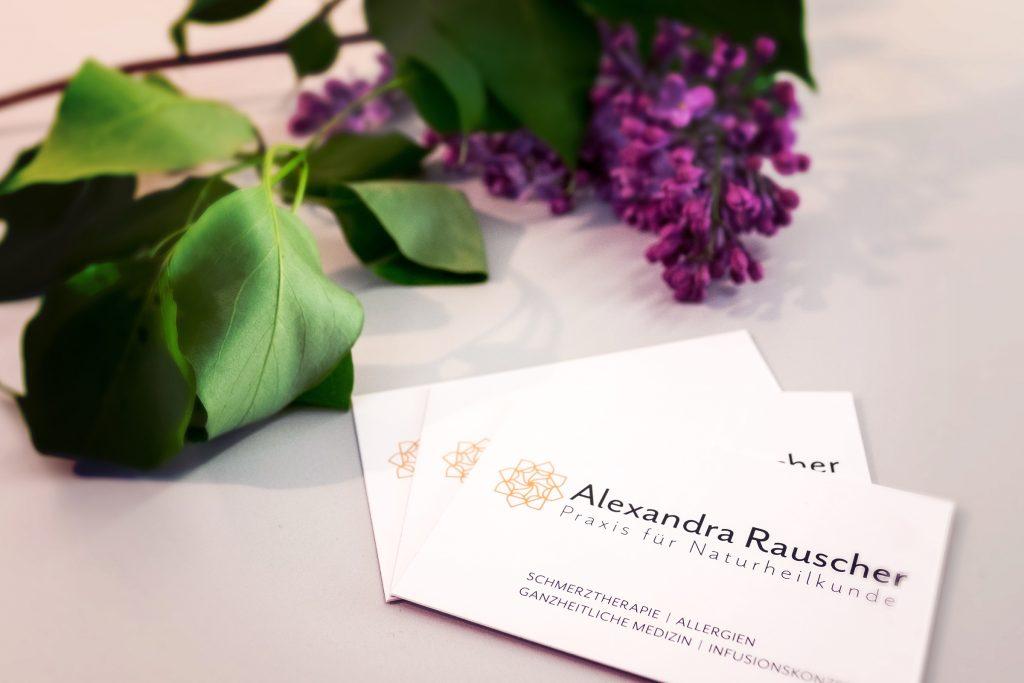 Visitenkarte Alexandra Rauscher